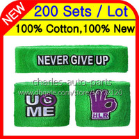 Wholesale cotton wristbands sweatband - 24Colors 100% Cotton New Hot Green wristbands sweatbands wristband sweatband 100% New 100%High Quality Free customised Factory onlie store