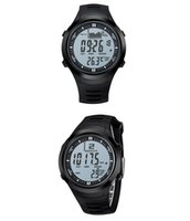 Wholesale Digital Fishing Barometer Watch - Wholesale-SUNTO original brand digital watches Men Women hours watch men's outdoor clock fishing weather altimeter barometer thermometer