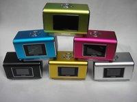 Wholesale Nizhi Tt6 Portable Mini Speaker - Wholesale-10pcs Nizhi TT6 Mini Portable Music Speaker With LCD Screen Support Micro SD TF Card FM Radio Digital Sound Box