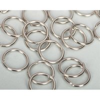 Wholesale Scrapbook Letters - 18mm circle Jump Rings link loops hooks chain spacer split ring beads connecting Clasp Ends Fastener scrapbook charms Art jewelry making