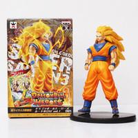 Wholesale Dragon Ball Z Goku Figure - Anime Dragon Ball Z Heroes Super Saiyan 3 Son Goku PVC Figure Collectible model Toy 7