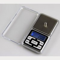 Wholesale Digital Lcd Scale - 200g x 0.01g Mini Electronic Digital Jewelry Scale Balance Pocket Gram LCD Display Free Shipping T0015