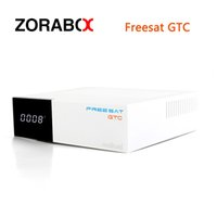 10pcs 4K H.265 Freesat GTC S905D Android 6.0 TV Box DVB-S2 / T2 / Cabo / ISDB-T Receptor de Satélite OTA Software Upgrade