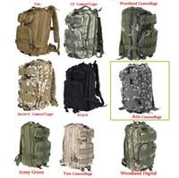 Wholesale Army Waterproof Bag - 30L 3P Backpack Waterproof Outdoor Trekking Tactical Camping Military Sports Rucksacks Backpacks Classic Bag Multi Color