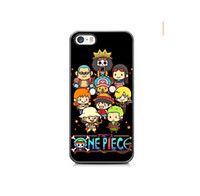 Estuche Anime One Piece para iPhone 4s 5s 5c 6 6s Plus ipod touch 4 5 6 Samsung Galaxy s2 s3 s4 s5 mini s6 edge plus Nota 2 3 4 5