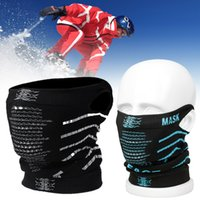 Wholesale Face Mask Purpose - Wholesale- New Multi-purpose Unisex Windproof Skiing Riding Mask Dustproof Warm Face Masks Outdoor Hiking Haze Prevention Face Cover New