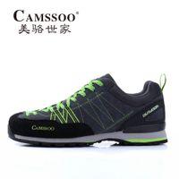 Wholesale Scarpe Sport - Wholesale-Famous Brand Mens Sports Outdoor Hiking Scarpe Trekking Shoes Sneakers For Men Climbing Mountain Shoes Man Senderismo