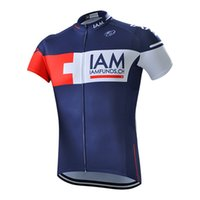 Wholesale Iam Cycling - 2017 New IAM Cycling jersey Summer Ropa Ciclismo Breathable Bike Clothes Quick-Dry mtb Bicycle Shirt short sleeve Cycling clothing A0903