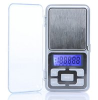 Wholesale Mini Jewelry Pocket - New Arrive 500g 0.1g Mini Electronic Digital Pocket Scale Jewelry Weighing Balance Counting Function Blue LCD g tl oz ct