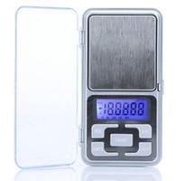 ingrosso bilance di equilibrio-Nuovo Arriva 500g / 0.1g Mini Elettronico Digitale Bilancia Tascabile Gioielli Bilanciamento Conteggio Funzione LCD LCD g / tl / oz / ct