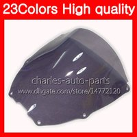 Wholesale Honda Rc51 Motorcycle - 23Colors Motorcycle Windscreen For HONDA VTR1000 00 01 02 03 04 05 06 RC51 SP1 SP2 VTR 1000 2000 2006 Chrome Black Clear Smoke Windshield
