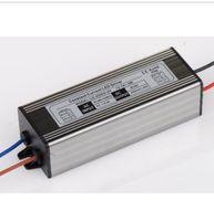 ip66 led sürücüsü toptan satış-Toptan Satış - 36-54w 12-18 * 3w LED Işık Toptan-2pcs DC40V-62V 600mA LED Sürücü IP66 Su geçirmez Güç Kaynağı