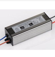 Wholesale Ip66 Led Driver - Wholesale-2pcs DC40V-62V 600mA LED Driver IP66 Waterproof Power Supply for 36-54w 12-18*3w LED Light