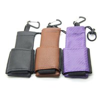 Wholesale E Cigarette Pu Leather - E-XY vape vapor carry pouch bag e cigarette PU Leather ego bag E Cig Carring pouch eGo Box Case Pouch with Hook for Mechanical Mod ego X6