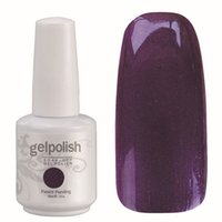 Wholesale Nail Gel Solid Color - Wholesale-Popular Gelpolish 1881 Solid Color UV Gel Polish Remove Wholesale Nail Polish