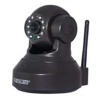 Wholesale Ir Motion Camera Micro Sd - New Webcam with TF Micro SD Card Slot Cell Phone Remote View Pan Tilt Rotate Motion Detection IR Night Vision Network IP Camera