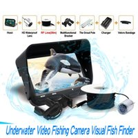 Wholesale Underwater Monitoring - 720P Underwater Fishing Camera 4.3inch LCD Monitor 6 LEDS IR Night Vision Video Fish Finder 30M Cable Visible Fish Finder X3 ann