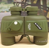 Wholesale Russian Microscope - Russian waterproof binoculars covered compass 10x50 military binoculars, stabilized rangefinder binoculars with coordinate sale