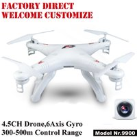Wholesale Long Distance Remote Controls - 300-500 meters long distance remote control 2.4 G six axis high-definition aerial aircraft Four axis remote-controlled drone aircraft