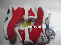 Wholesale Mag Sneakers - Cheap all Red Air Mag Back to the Future High Top Sneakers Mens Mags LED Lighting Lights Black Grey Outdoor Shoes No Box