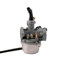Wholesale Atv Carburetor - Carburetor PZ19 Carb 50 70 90cc 100 110cc 125cc ATV sunl NST Cable Choke Wholesale 2016 free shipping