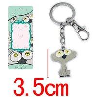 Wholesale Sonic Keyring - Fashion keychain Anime Blood Blockade Battlefront Sonic Speed Monkey model Pendant key chain keyring anime key holder decor