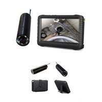 Wholesale Cameras For Pipe Inspections - wireless mini inspection camera HD monitor for pipe gutter chimney cleanning