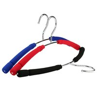 Wholesale Foam Coat - Colorful Foam Padded Metal Hanger for Tops, Thick Strong Non Slip Coats Clothes Hanger