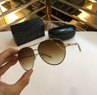 Wholesale Rc Frames - Designer Roberto Syrma Rc 976s sunglasses sonnenbrille Gold Brown Fashion Women Brand Sunglass New with box