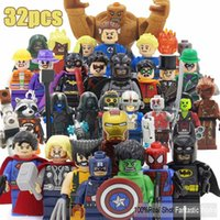 Gros-DC Toy action Marvel Figures SY Blocks VS Decool Figurines Building Blocks Heroes Assemble Super Heroes Justice League X-Men
