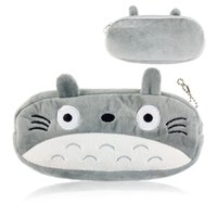 Wholesale Kids Pencil Pen Holders - New Kawaii Japan TOTORO School Kids Pen Pencil BAG GIFT BAG Lady Girl's Cosmetics Purse BAG & Wallet Coin Holder Pouch BAG Case
