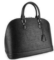 Wholesale Tote Bag Designer Celebrities - High Quality Celebrity Style Designer Brand Fashion ALMA bags women's handbag evening bag Water ripple bag