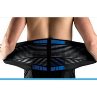 Wholesale Low Back Support Belt - Wholesale-1pc High Quality Neoprene Double Pull Lumbar Spinal Braces Back Support Belt Lower Back Pain Relief Self-heating Belt