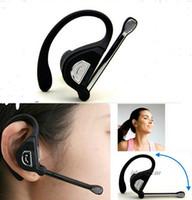kopfhörer großhandel-Drahtloser Bluetooth-Kopfhörer-Kopfhörer-einzelne Spur Sport-Kopfhörer für iphone 6 plus 5 5S Samsung Fahrwerk mit Kleinpaket