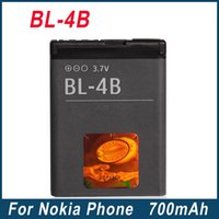 Wholesale Bl 4b - 700mAh BL-4B BL4B Batteries For Nokia 2630 2660 2760 5000 6111 7070 7370 7373 7500 N76 Battery With Excellent Quality