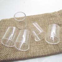 Wholesale smok tfv4 kits resale online - Pyrex Replacement Glass Tube for Smok Micro TFV4 Plus XL ml ml TFV8 Baby ml Stick V8 AL kit tank atomizer