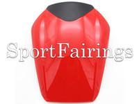 motosiklet arka koltuk örtüsü toptan satış-Honda CBR1000RR Için motosiklet Koltuk Kukuletası Arka Kapak 08 09 10 11 12 13 14 2008 - 2014 Enjeksiyon ABS Plastik Fairing Koltuk Örtüsü Kırmızı Beyaz Yeni