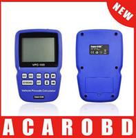 Wholesale Kia Pin Calculator - 2015 Original VPC-100 Hand-Held Vehicle PinCode Calculator VPC-100 (300 tokens+200 tokens ) VPC100 Pin Code Calculator free shipping