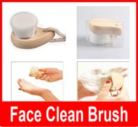 Wholesale Hand Remove Wash - Unisex Soft Facial Mild Fiber Face Hand Body Clean Wash Deep Cleansing Pore Care Nature Massager Brush Hands Body Skin Care
