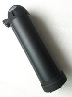 elektrische fahrrad-lithium-batterie 36v 15ah großhandel-Schwarzer Fall Rechargeble Electric Bike Batterie 36V 15AH Wasserflasche für Samsung Zelle Batterie Wasserkocher mit BMS und Ladegerät