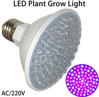 Wholesale Newest Hydroponics Lighting W E27 LED Leds Red and Blue Hydroponic LED Plant Grow Light Bulb V