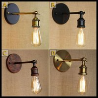 Louis Poulsen Aplique Apliques Vintage Loft Aplique E27 Edison Bulbo Plateado Hierro Retro Industrial Home Lighting Bedside Lamp