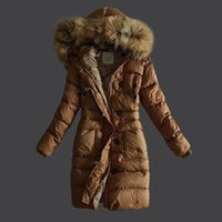 Wholesale Women S Silk Velvet Jackets - winter long down jacket women High quality white duck feather coat jacket outerwear jackets women long warm parka for women
