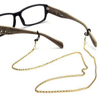 Wholesale sunglasses neck cord strap for sale - Group buy Reading Glasses Spectacles Glasses Sunglasses Holder Neck Cord Metal Strap Chain