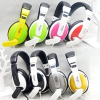 Wholesale Gaming Cafe - 2016 New Hot Cool bit T155 Internet cafes headset computer game voice headset 3.5mm stereo gaming headset wholesale free shipping