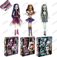 spectra vondergeist doll - Original pc Monster High dolls Monster High It s Alive Doll Spectra Vondergeist Clawdeen Wolf Frankies Stein FreeShipping
