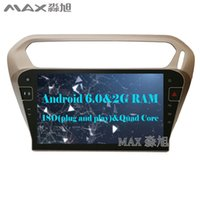 """Wholesale Dvd Car Peugeot - 2G+16G 10.1"""" Android 6.0 Car DVD Player for Peugeot 301  Citroen Elysee 2014 with 1024*600 Radio BT WIFI SWC GPS"""