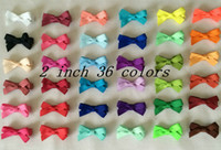 Wholesale Ribbon Bow Hair Pin - 10% OFF 2015 new arrival!mini 2INCH,60pcs lot,cute GROSGRAIN RIBBON bow hair clip pin alligator children hair Accessories.free shipping.