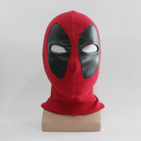 Wholesale deadpool costume accessories online - Deadpool Masks Halloween Cosplay Costume Full Face Mask