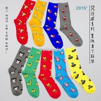 Wholesale Avengers Socks - The Avengers 2015 tide personality lovers socks Man Granville DC series co subsection tube socks